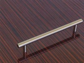 Fogantyú fém  96mm nikkel / elox / E037  00007650876