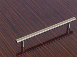Fogantyú fém 192mm nikkel / elox / E037  00007650892