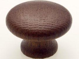 Fogantyú fa gomb F 166-36  Tölgy pácolt