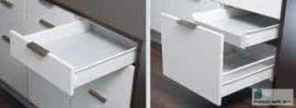 HARN Impaz belső fiókoldal  85 * 450mm Fehér
