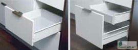HARN Impaz belső fiókoldal 117 * 550mm Fehér