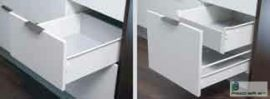 HARN Impaz belső fiókoldal 149 * 550mm Fehér