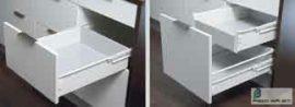 HARN Impaz teljes kihúzású fiókoldal 117 * 550mm Fehér