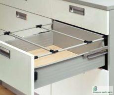 HARN Impaz  fiókoldalhoz korlát 500mm Fehér